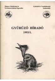 Gyűrűző híradó 1993/1. - Régikönyvek