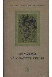Gulyás Pál válogatott versei - Régikönyvek