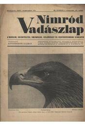 Nimród Vadászlap 1947. szept. 15. - Régikönyvek