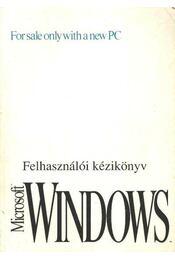 Microsoft Windows felhasználói kézikönyv - Régikönyvek