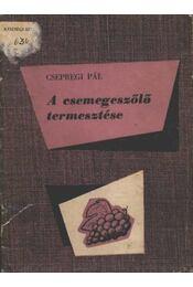 A csemegeszőlő termesztése - Régikönyvek