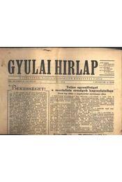 Gyulai Hírlap 1956. dec. 23. - Régikönyvek