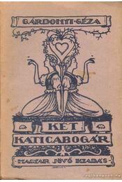 Két katica-bogár - Régikönyvek