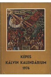 Képes Kálvin Kalendárium 1976 - Régikönyvek