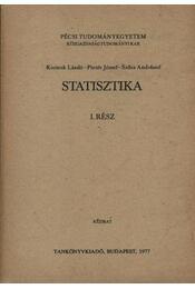 Statisztika I. rész - Régikönyvek
