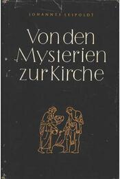Von den Mysterien zur Kirche - Régikönyvek