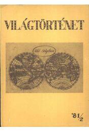 Világtörténet '81/2. - Régikönyvek