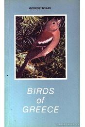 Görögország madarai (Birds of Greece) - Régikönyvek