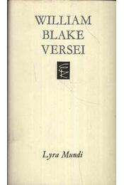 William Blake versei - Régikönyvek