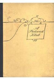 A Pickwick Klub - Régikönyvek