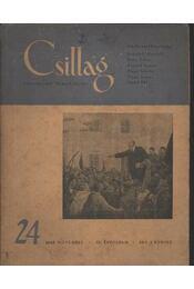 Csillag 24. 1949. november III. évfolyam - Régikönyvek