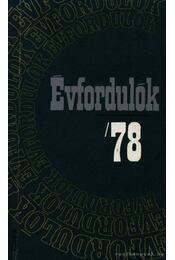 Évfordulók '78 - Régikönyvek