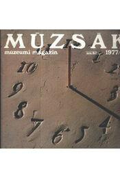 Múzsák Múzeumi Magazin 1977. évf. (teljes) - Régikönyvek
