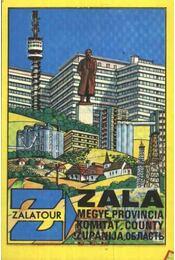 Zala megye térkép - Régikönyvek
