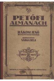 Petőfi almanach - Régikönyvek