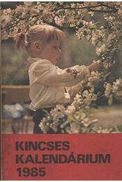 Kincses kalendárium 1985 - Régikönyvek