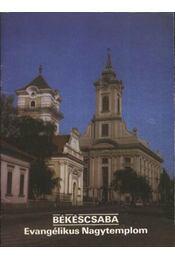 Békéscsaba - Evangélikus Nagytemplom - Régikönyvek