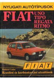 Fiat, Uno, Tipo, Regeta, Ritmo kezelési és karbantartási utasítások - Régikönyvek