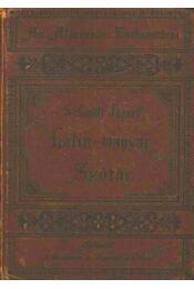Latin-magyar szótár középiskolák számára - Régikönyvek