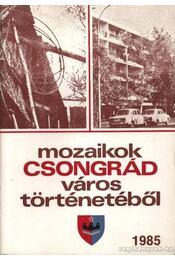 Mozaikok Csongrád város történetéből 1985 - Régikönyvek
