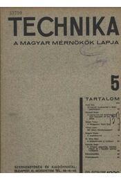 Technika 5. - Régikönyvek