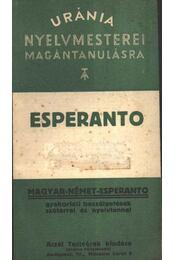 Eszperanto - Régikönyvek