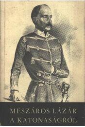 A katonaságról - Régikönyvek