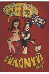Ludas Matyi Évkönyve 1981 - Régikönyvek