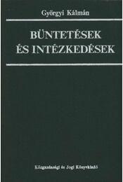 Büntetések és intézkedések - Régikönyvek