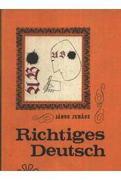 Richtiges Deutsch - Régikönyvek