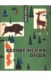 A bialowieazai rengeteg (Беловежская пуща) - Régikönyvek