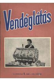 Vendéglátás II. évfolyam 1. szám 1958. február - Régikönyvek
