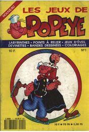 Popeye foglalkoztató füzet 1. - Régikönyvek