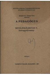 A pedagógus - Régikönyvek