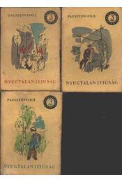 Nyugtalan ifjúság I-II-III. kötet - Régikönyvek