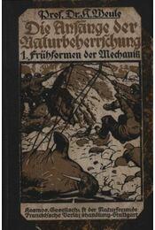 Die Anfange der Naturbeherrschung - Régikönyvek