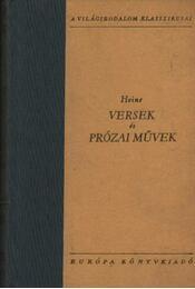 Versek és prózai művek I-II. - Heine - Régikönyvek