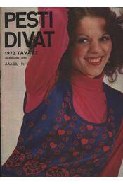 Pesti Divat 1972 tavasz - Régikönyvek