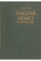 Magyar-Német szótár I-II. kötet - Régikönyvek