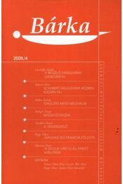 Bárka 2005/4 - Régikönyvek