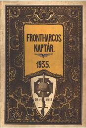 Frontharcos Naptár 1935. - Régikönyvek