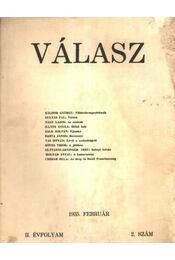 Válasz 1935. február II. évfolyam 2. szám - Régikönyvek