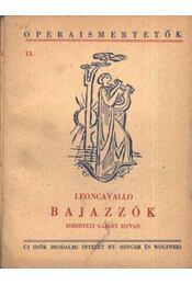 Bajazzók - Régikönyvek