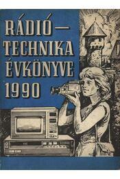Rádió Technika évkönyve 1990 - Régikönyvek
