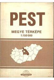 Pest megye térképe - Régikönyvek