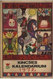 Kincses kalendárium 1972. - Régikönyvek