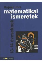 Matematikai ismeretek - Régikönyvek