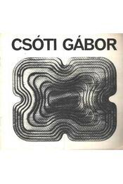 Csóti Gábor - Régikönyvek
