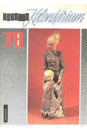 Érdekes Kalendárium 1978 - Régikönyvek