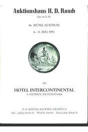 46. Münz-auktion (6.-8. Mai 1991) - Régikönyvek